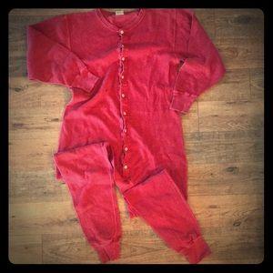 GAP Red Union Suit